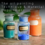 The oil painting - technique & material department